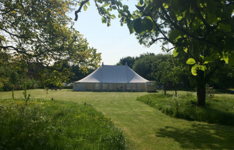 Marquee at The Angel Pershore